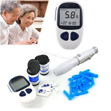 Electronic Handheld Blood Glucose Monitor Diabetes Test Meter Monitor +50 strips