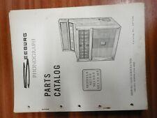 Seeburg jukebox  machine manual paperwork SE100 etc