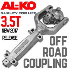 ALKO 3.5T Off Road Coupling Hitch 50mm Ball Fixed Electric Camper Caravan AL-KO