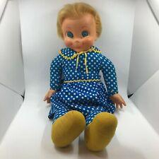 """Mrs Beasley Family Affair Tv Show Pull String 20"""" Doll 1960s Mattel 113"""
