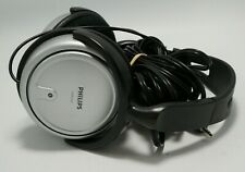 Philips SHP 2500 Headphones with 20 foot cord + Volume control Tested and Works