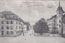 SWITZERLAND - Zofingen, Hintere Hauptstrasse 1907