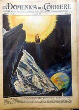 LA DOMENICA DEL CORRIERE N.3 1959 WALTER MOLINO  LUNIK RAZZO
