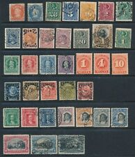 CHILE **36  DIFFERENT EARLY ISSUES (1867-1910)**; MOSTLY USED **GOOD VALUE**
