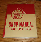 1940 1941 1942 Cadillac Shop Service Manual 40 41 42