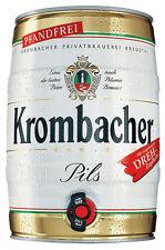 (2,20 €/l) Krombacher Pils 2x 5l Fässer pfandfrei