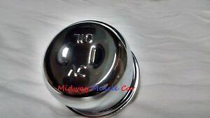 AC chrome twiston valve cover oil cap breather Pontiac GTO Chevy Camaro Chevelle