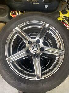"Set of 4  7J 16"" VW Fitment Alloy Wheels. ET35 From VW Touran"