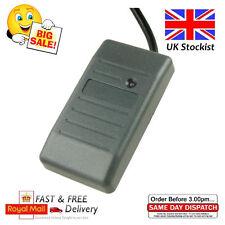 125khz Negro Plástico EM ID Wiegand 26 RFID Proximidad Lector de Tarjetas Reino Unido con Cable
