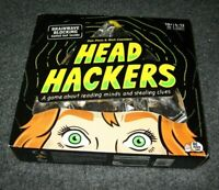 Head Hackers Board Game Reading Minds & Stealing Clues Foil Hat NEW SEALED FUN
