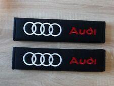 Audi Car Accessories Racing Safety Seat Belt covers Pads A1 A3 A4 A5 TT Q3 Q5 R8