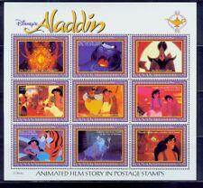 guyana /disney^s aladdin-animated film story s/s /very nice