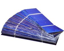 100 celle solari policristalline fai da te 0.5 0.2w 52x26mm cell Solar Panel DIY
