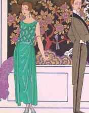 A4 Photo Barbier George 1882 1932 La Premiere Imprudence Print Poster