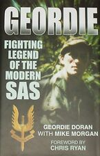 GEORDIE DORAN SAS Military History Para Regiment NEW HB Secret Operation Battles