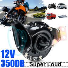 350DB 12V Electric Bull Air Horn Super Loud Raging For Universal Car Truck