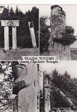 RP: Haida Totems , Queen Charlotte Islands , B.C. , Canada , 60-70s