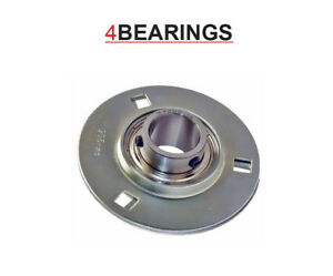 SBPF /SLFE 204 TO 208 ROUND PRESSED STEEL HOUSING AND BEARING ** PLEASE CHOOSE**