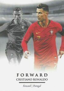 2020 FUTERA UNIQUE SOCCER Cristiano Ronaldo CR7 Portugal Juventus Base Card #86