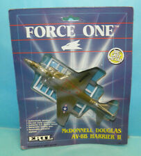 1989 ERTL Force One McDonnell Douglas AV-8B Harrier II Model Plane Die Cast #C