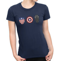 Avengers Captain America Shield Evolution Women's T-Shirt