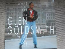 GLEN GOLDSMITH What you see is what you get 12´´ MAXI 1988 HOUSE