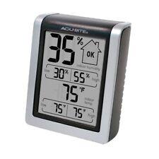 Indoor Thermometer Hygrometer Humidor Humidity Gauge Grow Tent Terrarium