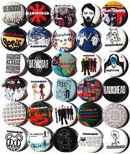 RADIOHEAD Button Badges Pins Creep OK Computer Karma Police Britpop Lot of 30