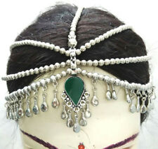 Tribal Head dress Piece Band Afghan Kuchi Headpiece Band Belly Dance Ethnic Bohe