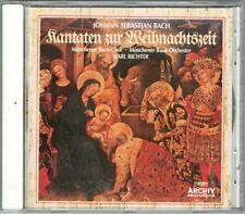 BACH Kantaten Zur Weihnachtszeit KARL RICHTER Peter Schreier Christmas Cantatas