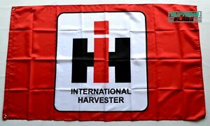 International Harvester Flag 3x5 ft Banner Red