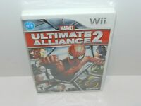 Marvel Ultimate Alliance 2 Nintendo Wii Game Brand New Sealed 1st Release