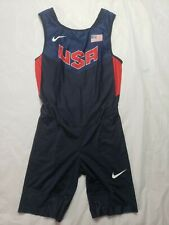 Nike Pro Elite Olympic Men's Speedsuit USA Track Field Running Oregon Medium
