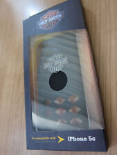 Harley-Davidson Original Phone Cover Silicone Black NEW! for iPhone 5c # 07609