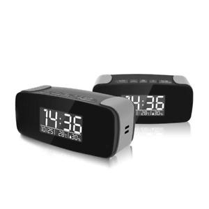 EX TRADE SHOW STOCK - 1080P HD Wi-Fi Security Clock Camera