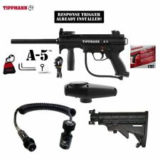 Tippmann A-5 Response Trigger Paintball Gun Button Remote Coil Stock Package