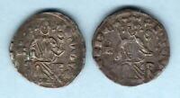Cyprus - Order of Malta : Crusades. Hugh IV (1324-59) Silver Gros x 2 Coins.