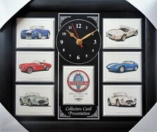 Cobra The Sports Car Stunning Collector Cards Wall Clock