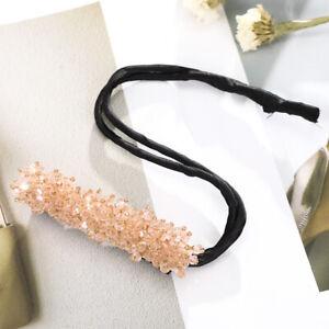Flower Hair Bun Ball Head Bridal Rhinestone Hairpin Female Clip Twist Magic Tool