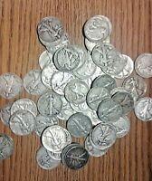 4 Random Walking Liberty Half Dollar Junk Silver Coins