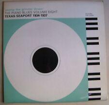 Piano Blues Vol 8 1934-37 Texas Seaport LP~Andy Boy~Rob Cooper~MAGPIE UK pressin
