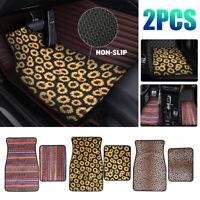 Universal Car or Van Floor Mats 2PCS Neoprene Non Slip Carpet Protection Mats