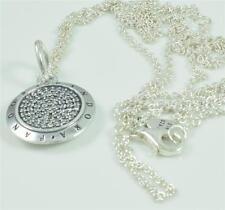 Genuine pandora sterling silver collier signature - 390375cz-70