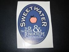 SWEETWATER BREWING COMPANY Pit & Pendulum STICKER decal craft beer brewery