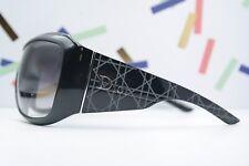Sonnenbrille Original Christian Dior Cannage 1 schwarz XXL LOGO 78/16 115 NEU