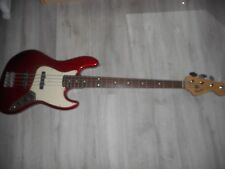 Squier By Fender Affinity P/ J 4 St.Guitare Basse Électrique Racer Rouge Défaut