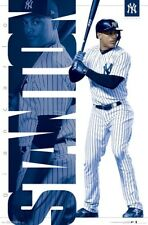 GIANCARLO STANTON - NEW YORK YANKEES POSTER - 22x34 MLB BASEBALL 16522