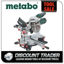 Metabo 254mm Crosscut & Mitre Saw with Sliding Function Latest Model - KGS 254 M