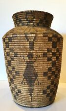 New listing Epic Apache Basketry Olla 19Th Cent No Reserve Fresh from Fenske Coll Albq Nm