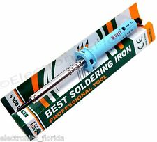 30W 110V Heat Pencil Tip Welding Solder Soldering Iron Kit Electronic Tool b802